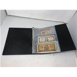 Binder of Foreign Notes
