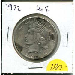 1922 US One Dollar Coin