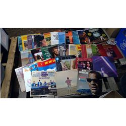 Assorted Records - The Beach Boys, Ray Charles, Barbara Streisand, etc.