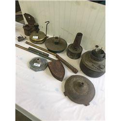 Lot of Vintage - Lamps, Parts, Pieces.
