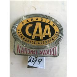 CAA License Badge - Vintage