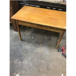 """Table and Drawer - Maple - 48"""" x 30"""" Top"""