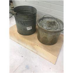 Minnow Bucket - Old Original