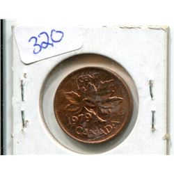 "1979 One Cent - Double Date on ""79"" UNC 60 - Scarce"
