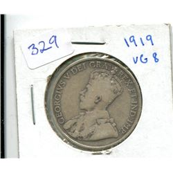1919 Canada Fifty Cent