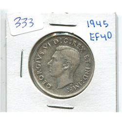 1945 Canada Fifty Cent