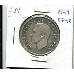 1949 Canada Fifty Cent