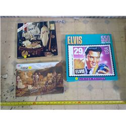 Lot of 3 Jigsaw Puzzles