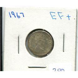 1967 Centennial 10 Cents