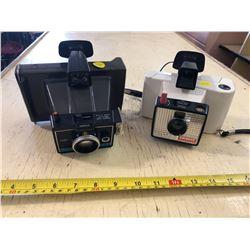 Polaroid Land Camera - 2 Different mModels