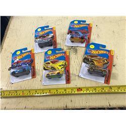 5 Die Cast Cars in Package