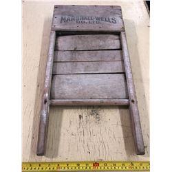 Marshall Wells Wash Board