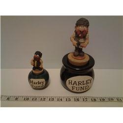 2 Harley Fund Jars