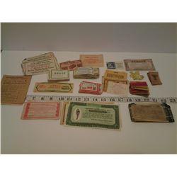 Vintage Coupons - Nabob, Blue Ribbon, Gold Standard, etc.