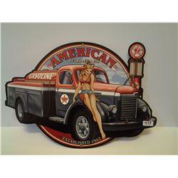"American Petroleum Co. Metal Sign (14"" x 19"")"