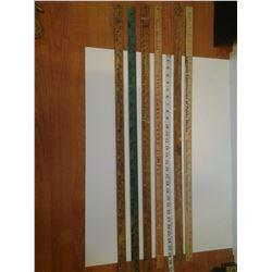 6 Yard Sticks - Saskatoon, Biggar, Hafford, etc.