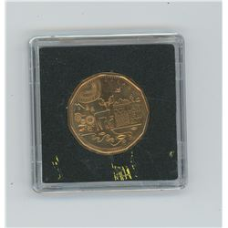 parks canada in container uncirculated (loonie)