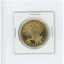 one gold clad liberty coin