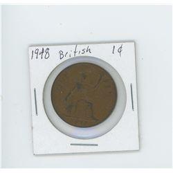1948 british penny