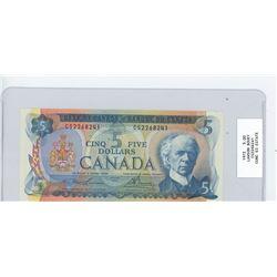 1972 five dollar bill