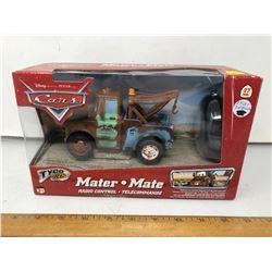 "NIB Disney ""Pixar Cars"" Tow Mater, Radio Controlled"