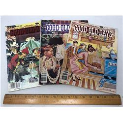 "3 ""Good-Old-Days"" Magazines - USA - 79, 80, 81"