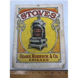 """A """"Stoves"""" - Sears, Robuck and Co, Chicago Magazine - 1906"""