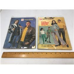 2 - McLeods Cats/ 1 f/w 1969 - 188 Pages/ 1 S/S 1971 - 188 Pages