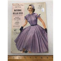 1 National Bellas Hess/ S/s 1953