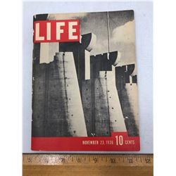"""Miniture Copy of 1st Issues of """"Life"""" Magazine - 96 Pages"""