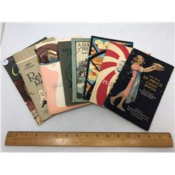 8 Various Booklet Cook Books, 1921-47, Pages 46-83