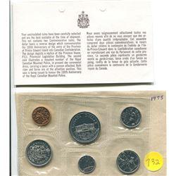 1973 - royal canadian mint P/Lset