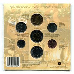 2005P - Season's greetings seven coin holiday gift set