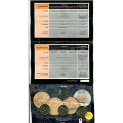 2012 - special edition uncirculated set - $1.00 grey cup, $1.00 lucky loonie