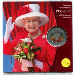1952-2012 - the queen's diamond jubilee - the royal cypher fifty cent coin