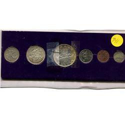 1963 Canadian Uncirculated Mint Set