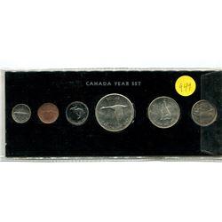 1967 Canadian Uncirculated Mint Set