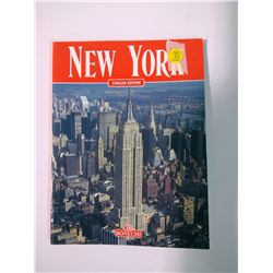 Copyright 1992 New York Book with the Twin Towers
