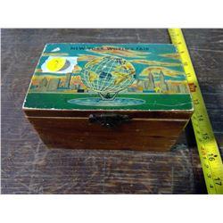 Souvenier New York World's Fair Box