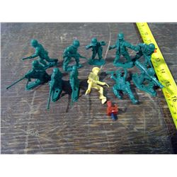 10 - Old Plastic Soldiers