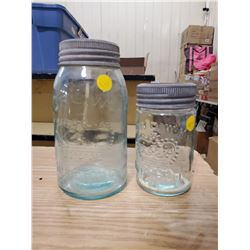2 CROWN JARS