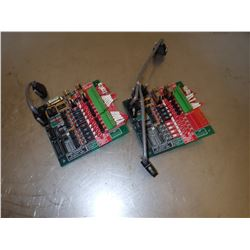 (2) UNITROL ELECTRIC #9280V-2 MULTI-VALVE DRIVER BOARD