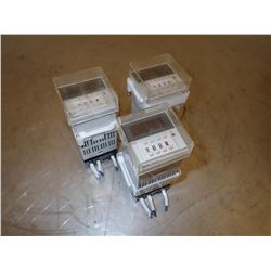 *LOT OF 3* OMRON H5CN-XBN TIMER