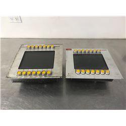 (2) BINAR OP44-L OPERATOR PANEL