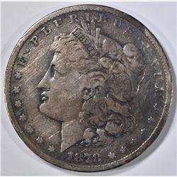 1878-CC MORGAN DOLLAR, FINE