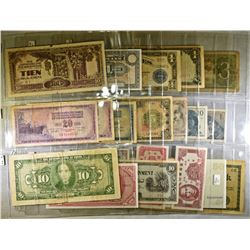 FOREIGN CURRENCY MIXED LOT