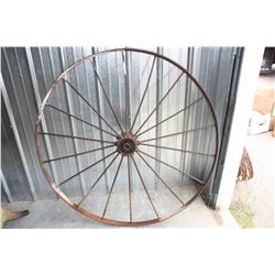 """2X THE MONEY - Steel Wheels 52.5"""" Diameter"""
