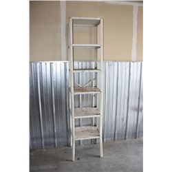 """Metal Stand  6 Shelves 83"""" by 18"""" by 16"""""""