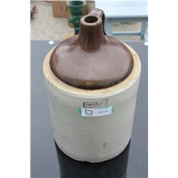 """Imperial Stoneware Jug 14.5"""" T (bottom chips)"""