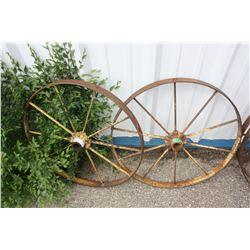 """2X THE MONEY - Metal Wheels 26"""" Diameter"""